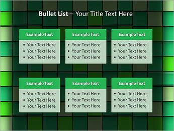 Vert avec des cercles Modèles des présentations  PowerPoint - Diapositives 36