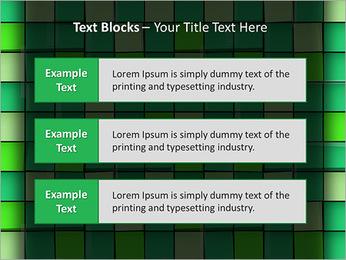 Vert avec des cercles Modèles des présentations  PowerPoint - Diapositives 38
