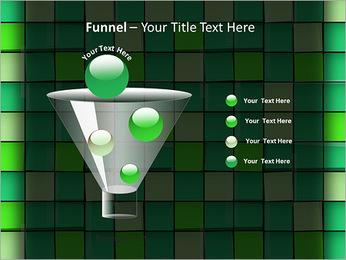 Vert avec des cercles Modèles des présentations  PowerPoint - Diapositives 43