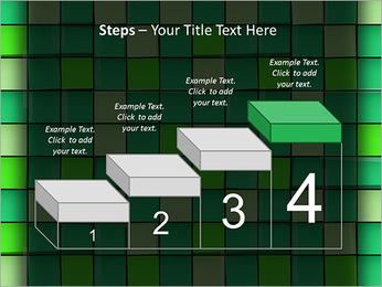 Vert avec des cercles Modèles des présentations  PowerPoint - Diapositives 44