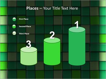Vert avec des cercles Modèles des présentations  PowerPoint - Diapositives 45
