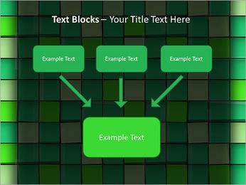 Vert avec des cercles Modèles des présentations  PowerPoint - Diapositives 50