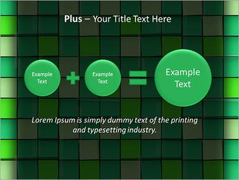 Vert avec des cercles Modèles des présentations  PowerPoint - Diapositives 55