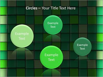Vert avec des cercles Modèles des présentations  PowerPoint - Diapositives 57