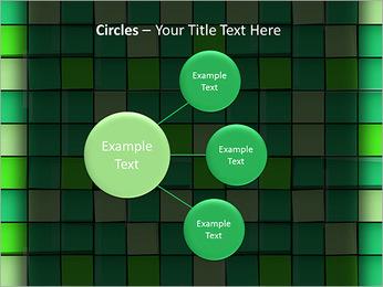 Vert avec des cercles Modèles des présentations  PowerPoint - Diapositives 59