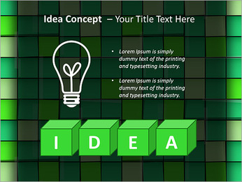 Vert avec des cercles Modèles des présentations  PowerPoint - Diapositives 60