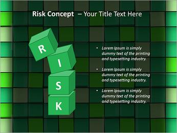 Vert avec des cercles Modèles des présentations  PowerPoint - Diapositives 61