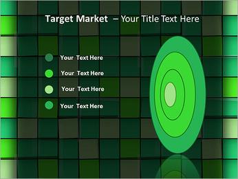 Vert avec des cercles Modèles des présentations  PowerPoint - Diapositives 64