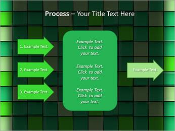 Vert avec des cercles Modèles des présentations  PowerPoint - Diapositives 65