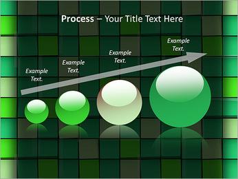 Vert avec des cercles Modèles des présentations  PowerPoint - Diapositives 67