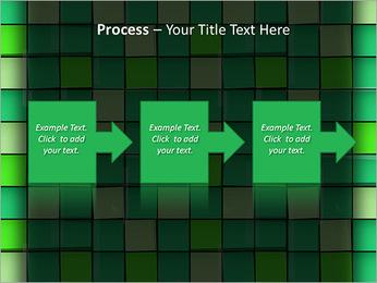 Vert avec des cercles Modèles des présentations  PowerPoint - Diapositives 68