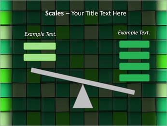 Vert avec des cercles Modèles des présentations  PowerPoint - Diapositives 69