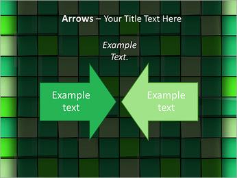Vert avec des cercles Modèles des présentations  PowerPoint - Diapositives 70