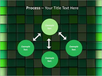 Vert avec des cercles Modèles des présentations  PowerPoint - Diapositives 71