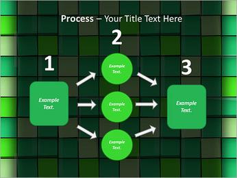Vert avec des cercles Modèles des présentations  PowerPoint - Diapositives 72