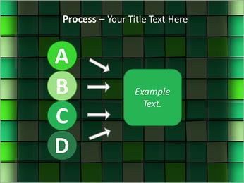 Vert avec des cercles Modèles des présentations  PowerPoint - Diapositives 74
