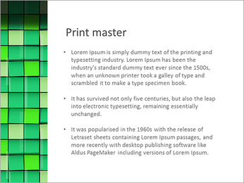 Vert avec des cercles Modèles des présentations  PowerPoint - Diapositives 76