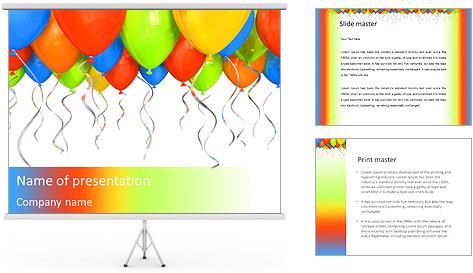 Шаблон для презентации powerpoint с днем рождения