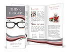 Eyeglasses Brochure Templates