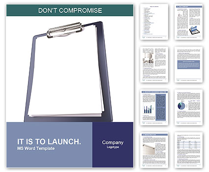 notepad template for word
