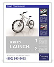 New Bicycle Poster Template