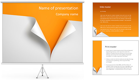 Paper Design PowerPoint Template Backgrounds ID 0000006544 – Paper Design Template