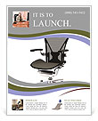 Office Chair Flyer Template