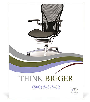 Office Chair Poster Template & Design ID 0000006556 ...