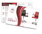 Two Chairs Postcard Template