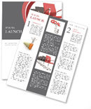 Chairs Line Newsletter Template