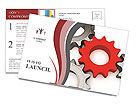 Machine Part Postcard Template