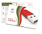 Memory Stick Postcard Templates