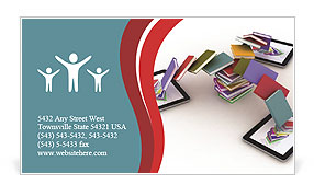 E-book Business Card Templates