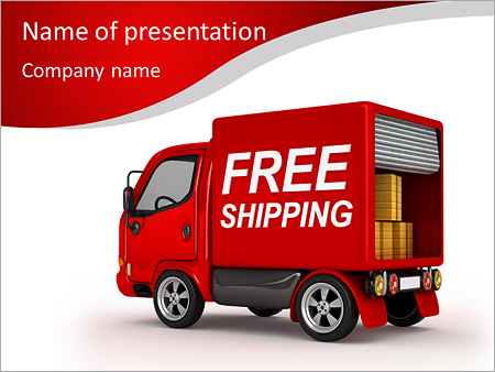 Free shipping powerpoint template backgrounds google slides id free shipping powerpoint template toneelgroepblik Image collections