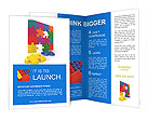 Children Puzzle Brochure Template