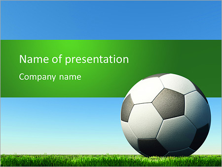 Football Powerpoint Template & Backgrounds Id 0000006578
