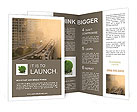City Smog Brochure Template