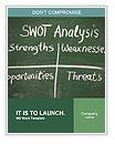 SWOT Analysis Word Templates