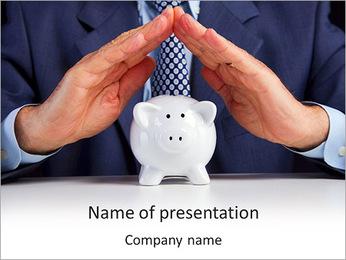 Pig Bank PowerPoint Template