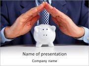 Pig Bank PowerPoint Templates