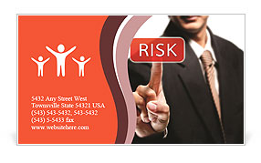 High Risk Business Card Templates