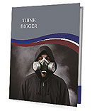 Gas Mask Presentation Folder