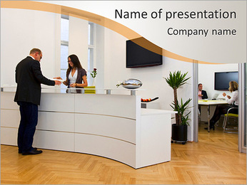 Reception PowerPoint Template