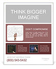 Financial Analysis Poster Template