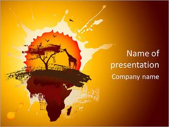 SafariAnimals PowerPoint Template