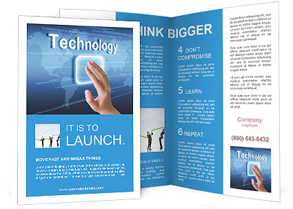 Technology Brochure Template Design ID - Technology brochure template