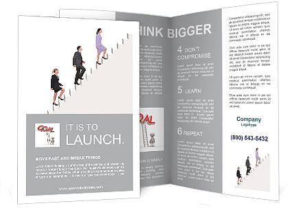 career growth brochure template design id 0000006623