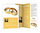 Wedding Ring Brochure Template