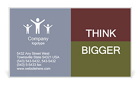 Grey Bird Business Card Template