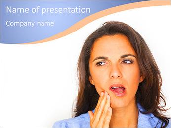 Kiespijn Sjablonen PowerPoint presentatie